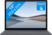 "Microsoft Surface Laptop 3 13"" i5 - 8 GB - 256 GB Platinum Azerty"
