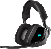 Corsair Void RGB Elite Draadloze Gaming Headset PC/PS4/PS5 Carbon/Zwart