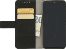 Just in Case Wallet Motorola One Zoom Book Case Noir