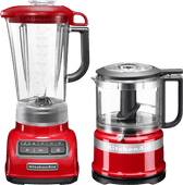 KitchenAid Diamond Blender Rouge Empire + Hachoir