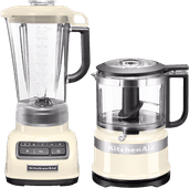 KitchenAid Diamond Blender Crème + Hachoir