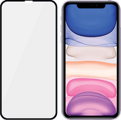 PanzerGlass Case Friendly Apple iPhone Xr / 11 Screenprotector Glas Zwart