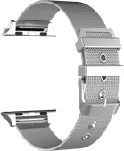 Just in Case Apple Watch 38/40 mm Mesh Bandje Zilver