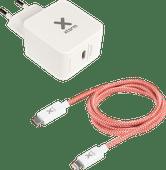 Xtorm Oplader met Kabel 1m Usb C naar Lightning 18W Power Delivery 3.0 Wit