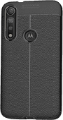 Just in Case Soft Design TPU Motorola Moto G8 Plus Back Cover Zwart