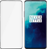 PanzerGlass Case Friendly OnePlus 7T Pro Screenprotector Glas Zwart