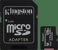 Kingston micro SDXC Canvas Select Plus 128 Go 100 Mo/s + Adaptateur SD