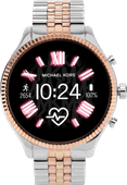 Michael Kors Access Lexington Gen 5 MKT5080 - Zilver/Rosé goud