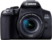 Canon EOS 850D + 18-55mm f/4-5.6 IS STM