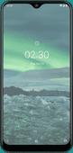 Azuri Nokia 2.3 Screenprotector Glas Zwart