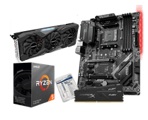 AMD Basic Upgrade Kit + Gigabyte GeForce GTX 1660 Super Gaming OC 6G