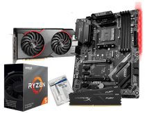 AMD Basic Upgrade Kit + MSI Radeon RX 5500 XT Gaming X