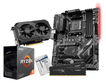 AMD Basic Upgrade Kit + Asus ROG Strix GTX 1650 Super Gaming OC 4G