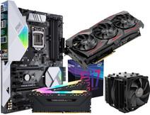 Intel Advanced Upgrade Kit + ASUS ROG STRIX 2060 Super Gaming OC 8G