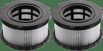 DeWalt Filtre Eau et Poussière pour DCV586MT2-QW (2 pièces)