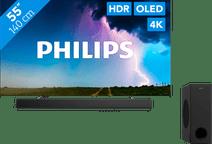 Philips 55OLED754 - Ambilight + Barre de son