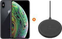Apple iPhone Xs 64 GB Space Gray + Belkin Boost Up Draadloze Oplader 10W Zwart