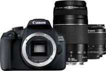 Canon EOS 2000D 18-55 DC + 75-300 DC