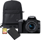Canon EOS 250D Zwart - Travelkit