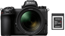 Nikon Z6 + 24-70 mm f/4 S + Adaptateur FTZ + Carte mémoire XQD 120 Go