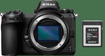 Nikon Z6 + Adaptateur FTZ + Carte mémoire XQD 120 Go