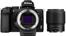 Nikon Z50 + 50 mm f/1.8 S + Adaptateur FTZ