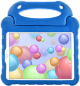 Just in Case Apple iPad (2020)/(2019) en iPad Air (2019) Kids Cover Ultra Blauw