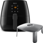 Philips Airfryer XL HD9262/90 + antiaanbak deksel