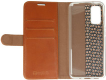 Valenta Classic Luxe Samsung Galaxy S20 Book Case Leer Bruin