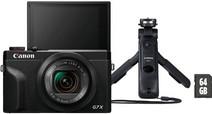 Canon G7 X Mark III Zwart - Vlogkit