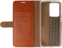 Valenta Classic Luxe Samsung Galaxy S20 Ultra Book Case Leer Bruin