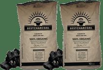 Best Charcoal Birch/Oak 10 kg Duo Pack