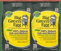Big Green Egg Premium Natural Houtskool 9 kg Duo Pack