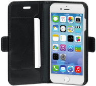 Dbramante1928 Copenhagen Slim Apple iPhone SE 2/8/7/6s/6 Book Case Leather Black