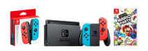 Nintendo Switch Red/Blue Family Bundle