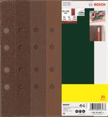 Bosch Sanding Paper Set 93x230mm K60, K80, K120, K240 (25x)