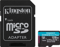 Kingston micro SDXC Canvas Go Plus 128 Go