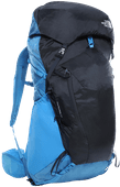 The North Face Banchee 50L Clear Lake Blue/Urban Navy - Slim Fit