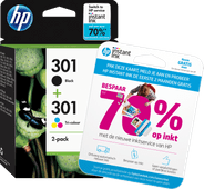 HP 301 Cartridges Combo Pack