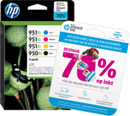HP 950/951XL Cartouches Pack Combiné