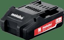 Metabo Accu 18V 2,0 Ah Li-Ion