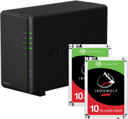 Synology DS218play + 20 TB