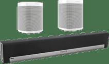 Sonos Playbar 5.0 + One (x2) Blanc