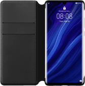 Huawei P30 Pro Flip Cover Book Case Zwart