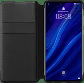 Huawei P30 Flip Cover Book Case Zwart