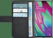 Azuri Samsung Galaxy A40 Book case-Portefeuille Magnétique Noir
