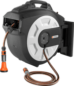 Gardena 30 m Roll-up Automatic met Broes