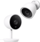 Google Nest Cam IQ Outdoor + Google Nest Cam IQ Indoor