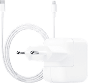 Apple Chargeur USB-C 30 W +  Câble Lightning vers USB-C 1 m