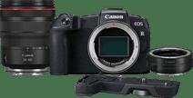 Canon EOS RP + Adaptateur EF-EOS R + RF 24-105 mm f/4L + Poignée EG-E1